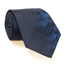 ボッテガヴェネタ BOTTEGA VENETA ネクタイ ミッドナイトブルー×メタリックブルー(グラデーション) CR NYAN 7.5 WOVEN 498187 4V002 4068 MID.NIGHT BLUE