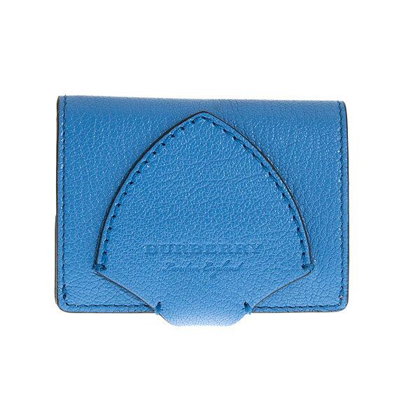 バーバリー BURBERRY 財布 レディース 二つ折り財布 ハイドレンジアブルー SM HARLOW 4074989 GL5:ACGPE 43710 HYDRANGEA BLUE 【英国】