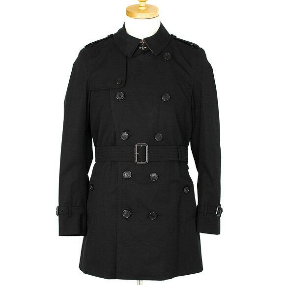 バーバリー BURBERRY アウター メンズ トレンチコート ブラック 黒 KENSINGTON MID 3983338 DK 00100 BLACK 【英国】
