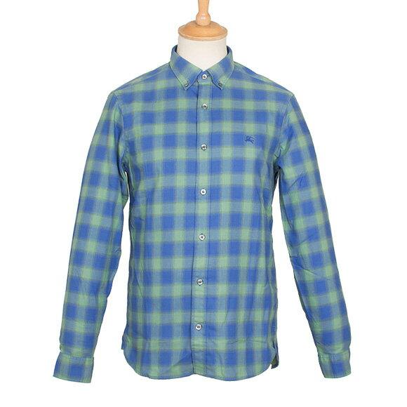 バーバリー BURBERRY メンズ ボタンダウンシャツ ユーカリグリーン NORTHGATE 4033197 ABZIV 3710K EUCALYPTUS GREEN【英国】