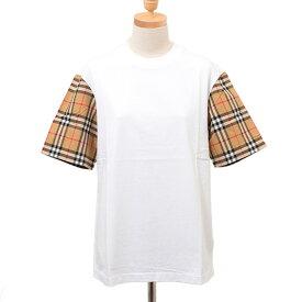 バーバリー BURBERRY レディース Tシャツ ホワイト SERRA 80148961 NB:ABTOT A1464 WHITE【英国】
