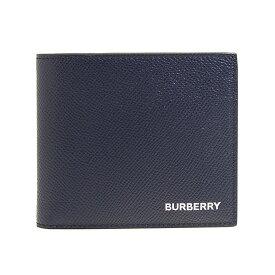 バーバリー BURBERRY 財布 メンズ 二つ折り財布 リージェンシーブルー REG CC BILL8 80146551 TT8:114498 A1250 REGENCY BLUE【英国】