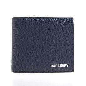 バーバリー BURBERRY 財布 メンズ 二つ折り財布 リージェンシーブルー CC BILL COIN 80146581 TT8:114498 A1250 REGENCY BLUE【英国】