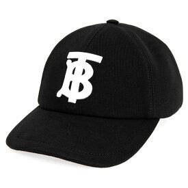 バーバリー BURBERRY キャップ ブラック BASEBALL CAP 80381411 113012 A1189 BLACK【英国】【2021AW】