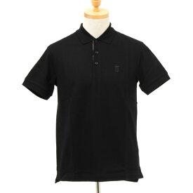 バーバリー BURBERRY メンズ 半袖ポロシャツ ブラック EDDIE 80140031 113838 A1189 BLACK【英国】