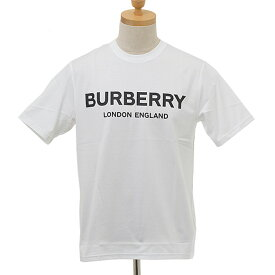 バーバリー BURBERRY メンズ Tシャツ ホワイト LETCHFORD 80260171 TAV:113839 A1464 WHITE【英国】