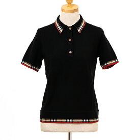 バーバリー BURBERRY レディース ポロシャツ ブラック LOLA 80296251 K4:120058 A1189 BLACK【英国】