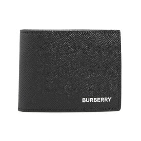 バーバリー BURBERRY 財布 メンズ 二つ折り財布 ブラック HIPFOLD 80174681 TT8:114498 A1189 BLACK【英国】