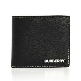 バーバリー BURBERRY 財布 メンズ 二つ折り財布 ブラック REG CC BILL8 80304231 BX9:111246 A1189 BLACK【英国】