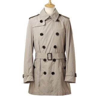 BURBERRY / Burberry coat P BRITTON QUAD men's trench coat beige 3801148 GBTM 25,200 TAUPE BURBERRY BRIT