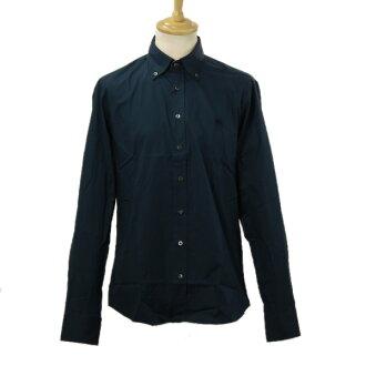 바바리 셔츠 WSM61364 맨즈 긴소매 보턴다운 셔츠 네이비 3357791 41000 NAVY BURBERRY