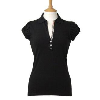 BURBERRY /Lady's short sleeves polo shirt/ black/ WLJW0000336 /3645125 00100