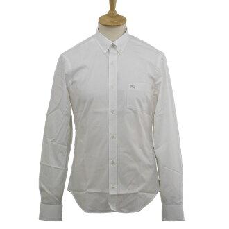 버 버 리 BURBERRY 티셔츠 남성 긴 팔 버튼 다운 셔츠 화이트 FRED PKT EKD 3306888 CHK 10000 WHITE BURBERRY BRIT