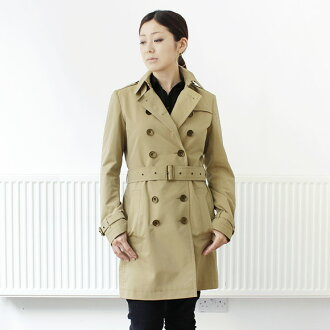And Burberry BURBERRY trench coats Womens cotton Poplin trench coat honey beige 3945824 AAPTUY 70,500 HONEY