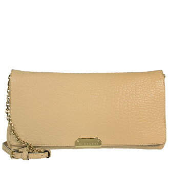 Burberry BURBERRY bag ladies 2-WAY shoulder / clutch bag apricot beige MD MILDENHALL 4012222 EHG:AAVTY/SG GRAIN 83,600 PALE APRICOT