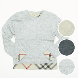 バーバリー BURBERRY 子供服 ニット ガールズ ニット PULL B15A02 [全3色]【英国】