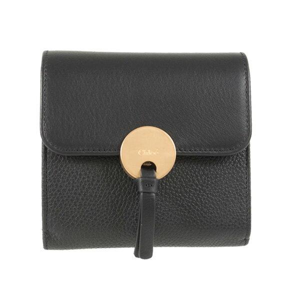 クロエ Chloe 財布 レディース 三つ折り財布 INDY SQUARE WALLET [インディー] ブラック C16UP811 / 3P0811 H8J NR001 BLACK