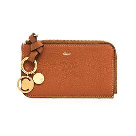 クロエ CHLOE 財布 レディース カードケース/コインケース(フラグメントケース) タンブラウン ALPHABET CARD HOLDER CHC17AP944 H9Q 25M TAN