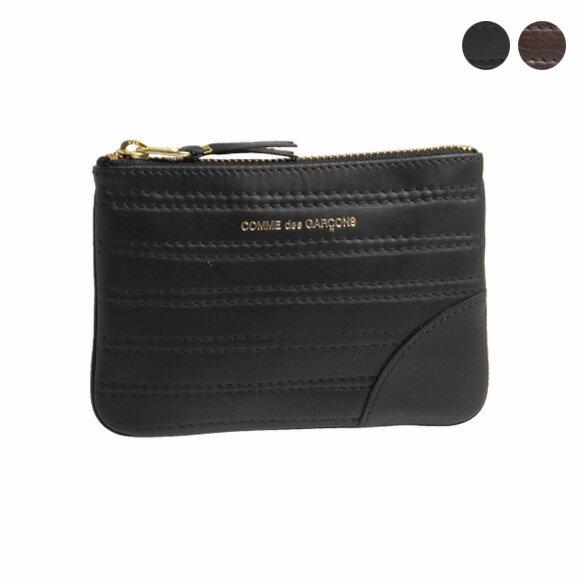 コムデギャルソン COMME DES GARCONS 財布コインケース [全2色] ブラック / ブラウンEMBOSS STITCH SA8100ES