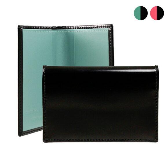 コムデギャルソン COMME DES GARCONS カードケース GLOSSY BLACK [全2色] ピンク/ブルー SA6400FL [全2色]