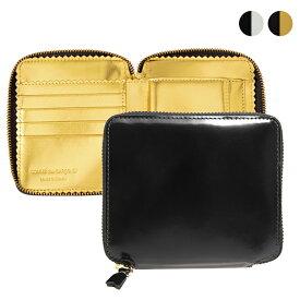 コムデギャルソン COMME DES GARCONS 財布 ラウンドファスナー二つ折り財布 [ミラーインサイド] MIRROR INSIDE SA2100MI [全2色]