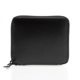 コムデギャルソン COMME DES GARCONS 財布 ラウンドファスナー二つ折り財布 ブラック VERY BLACK SA2100VB BLACK