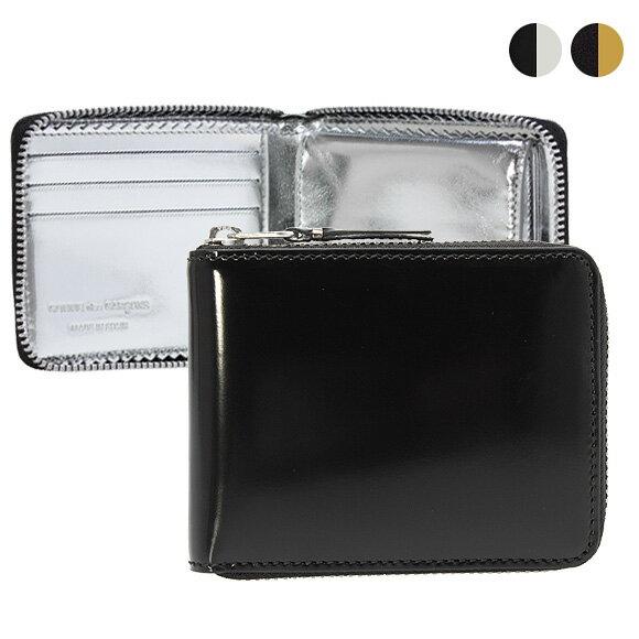 コムデギャルソン COMME DES GARCONS 財布 ラウンドファスナー二つ折り財布 MIRROR INSIDE SA7100MI [全2色]