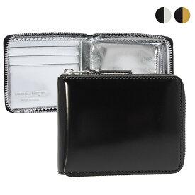 コムデギャルソン COMME DES GARCONS 財布 ラウンドファスナー二つ折り財布 [ミラーインサイド] MIRROR INSIDE SA7100MI [全2色]【ミニ財布】