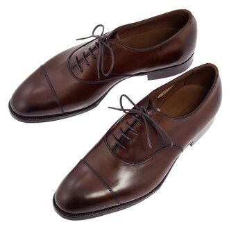 爱德华绿鞋皮革暗棕色牛津切尔西 E82 黑橡木古董爱德华绿色