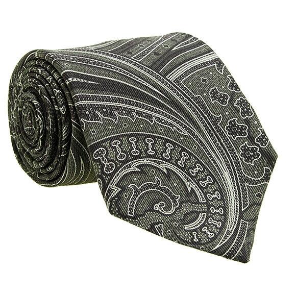 エトロ ETRO メンズ ネクタイ ブラック(ペイズリー柄) 黒 CRAVATTA 8cm TIE 12026 4003 1 BLACK