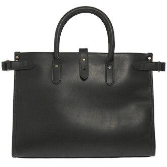 Ettinger ETTINGER bag tote bag / briefcase black PURSUITS CHELSEA LEATHER TOTE PUT15 BLACK