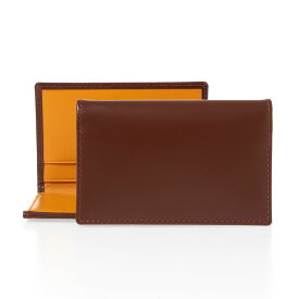 エッティンガー ETTINGER メンズ 名刺入れ(カードケース) ハバナブラウン ブライドルレザー LEATHER VISITING CARD CASE BH143JR HAVANA BRIDLE HIDE COLLECTION【英国】