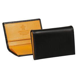エッティンガー ETTINGER メンズ 名刺入れ(カードケース) ブラック ブライドルレザー VISITING CARD CASE BH143JR BLACK BRIDLE HIDE COLLECTION【英国】