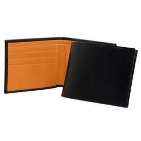 エッティンガー ETTINGER 財布 メンズ 二つ折り財布 ブラック ブライドルレザー BRIDLE HIDE COLLECTION BILLFOLD 6C/C BH030CJR BLACK【英国】