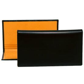エッティンガー ETTINGER 財布 メンズ 長財布 ブラック 黒 COAT WALLET WITH 8 C/C BH806AJR BLACK BRIDLE HIDE COLLECTION【英国】