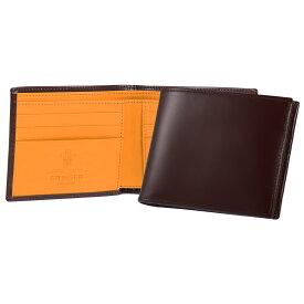 エッティンガー ETTINGER 財布 メンズ 二つ折り財布 ナッツブラウン ブライドルレザー BRIDLE HIDE COLLECTION BILLFOLD 6C/C BH030CJR NUT