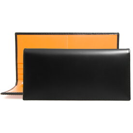 エッティンガー ETTINGER 財布 メンズ 長財布 ブラック BRIDLE HIDE COLLECTION LONG WALLET WITH ZIPPED POCKET BH953AEJR BLACK【英国】