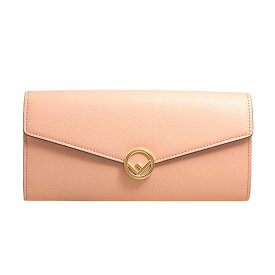 フェンディ FENDI 財布 レディース 長財布 ライトローズ F IS FENDI CONTINENTAL WALLET 8M0251 A18B F14N1 LIGHT ROSE+ORO SOFT