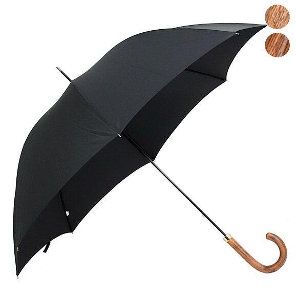 フォックスアンブレラズ FOX UMBRELLAS 傘 GM1 メンズ 高級長傘 ブラック POLISHED HARDWOOD HANDLE BLACK 【国内配送G】【送料無料】【レイングッズ】【英国】