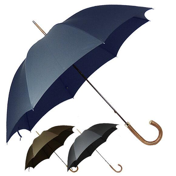 フォックスアンブレラズ FOX UMBRELLAS 傘 GT8 メンズ高級長傘 [全3色] NATURAL CHESTNUT HANDLE 【国内配送G】【レイングッズ】 【送料無料】【英国】