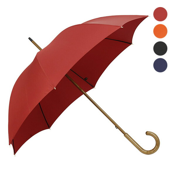 フォックスアンブレラズ FOX UMBRELLAS 傘 WLS3 レディース高級長傘 [全4色] ASSORTED MAPLE HARDWOOD HANDLES【国内配送G】【レイングッズ】【送料無料】【英国】