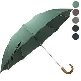 フォックスアンブレラズ FOX UMBRELLAS 傘 メンズ 折りたたみ傘 BROWN MAPLE CROOK HANDLE TEL1 [全5色]【英国】【レイングッズ】