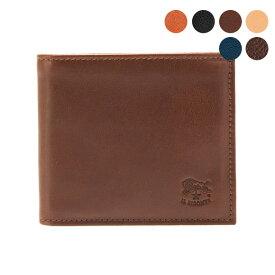 イルビゾンテ IL BISONTE 財布 二つ折り財布(小銭入れ付) C0487 MP [全6色]【母の日】