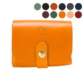 イルビゾンテ IL BISONTE 財布 カードケース COWHIDE CARD HOLDER C0848 P [全11色]【母の日】
