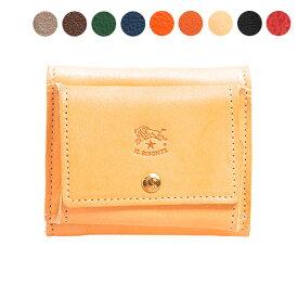 イルビゾンテ IL BISONTE 財布 三つ折り財布 C0940 P [全9色]【ミニ財布】