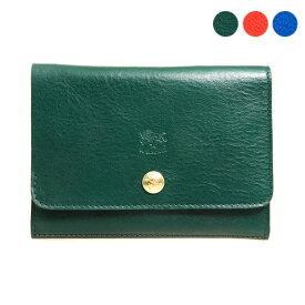 イルビゾンテ IL BISONTE 財布 二つ折り財布 C0522 EP [全3色]【母の日】