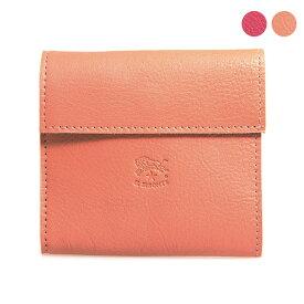 イルビゾンテ IL BISONTE 財布 三つ折り財布 C0455 EP [全2色]【ミニ財布】