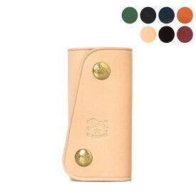 イルビゾンテ IL BISONTE キーケース Key Holder C0378 SKH011 PG0001 [全10色]【2021AW】
