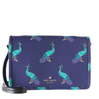 Kate spade KATE SPADE bag lady 2WAY shoulder bag HARDING STREET PEACOCK RENEE [Hardinge street Peacock] peacock blue PXRU7590 425 PEACOCK BLUE