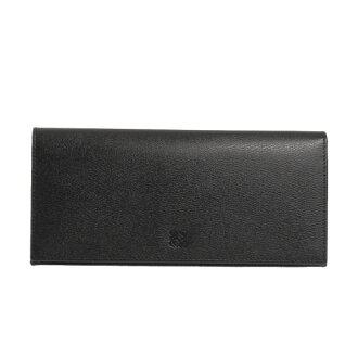 에 베 LOEWE 지갑 TEXTURE LEATHER LONG HORIZONTAL WALLET [텍스쳐 레더 롱 호리 존 탈 지갑] 남성 장 지갑 (동전 지갑 첨부) 블랙 103 30E978 1398 BLACK/OXBLOOD